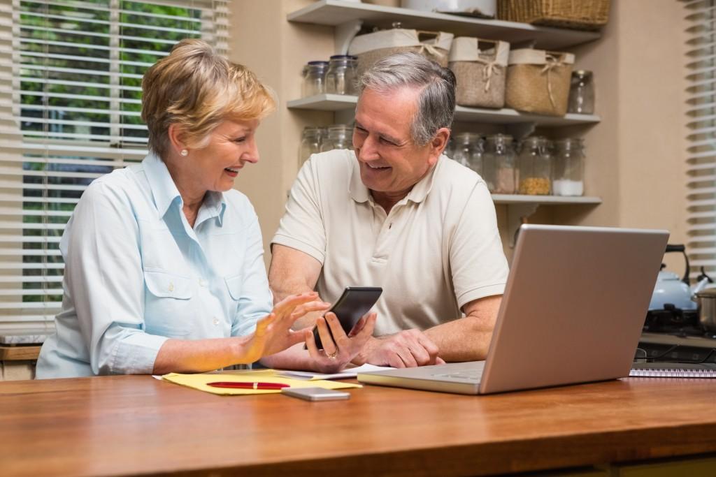 senior couple retirement planning